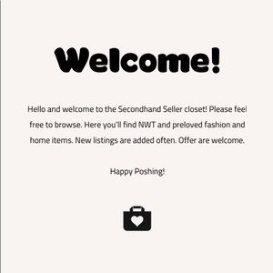 🛍💝 SECONDHAND SELLER 💝🛍